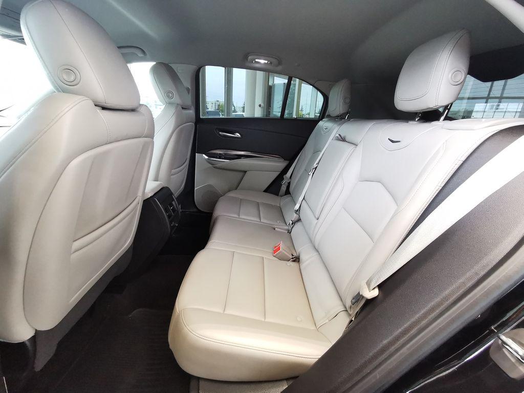 Black[Stellar Black Metallic] 2019 Cadillac XT4 Left Side Rear Seat  Photo in Edmonton AB