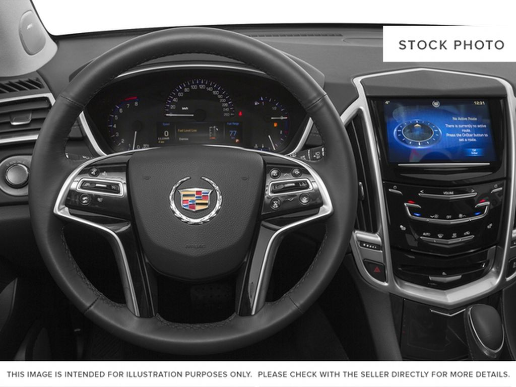 2016 Cadillac SRX Steering Wheel and Dash Photo in Medicine Hat AB