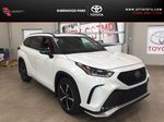 White[Blizzard Pearl] 2021 Toyota Highlander XSE AWD Primary Photo in Sherwood Park AB