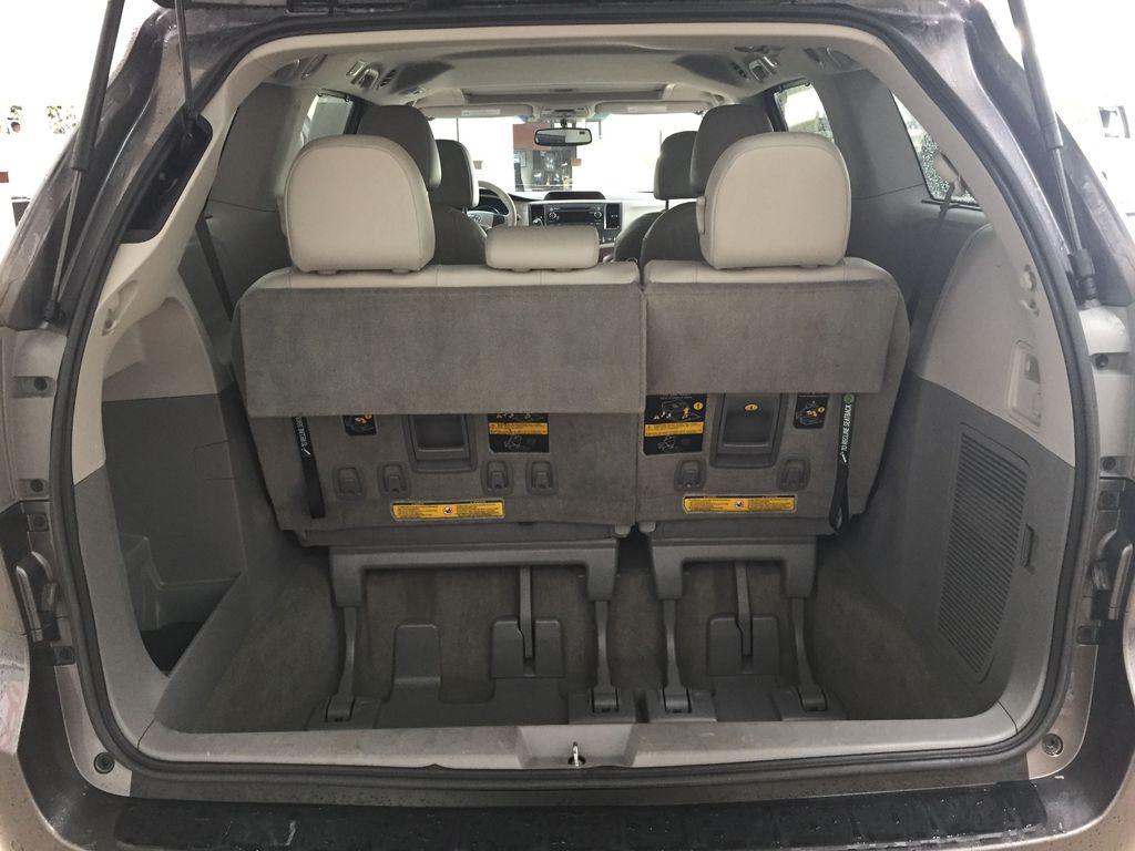 Gray[Pre-Dawn Grey Mica] 2014 Toyota Sienna XLE AWD Cargo Area/Rear Seats Photo in Sherwood Park AB