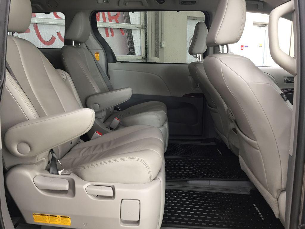Gray[Pre-Dawn Grey Mica] 2014 Toyota Sienna XLE AWD Right Side Rear Seat  Photo in Sherwood Park AB