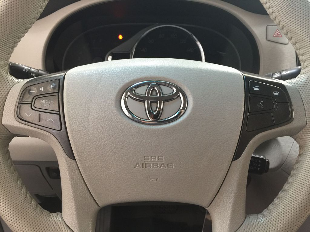 Gray[Pre-Dawn Grey Mica] 2014 Toyota Sienna XLE AWD Steering Wheel and Dash Photo in Sherwood Park AB
