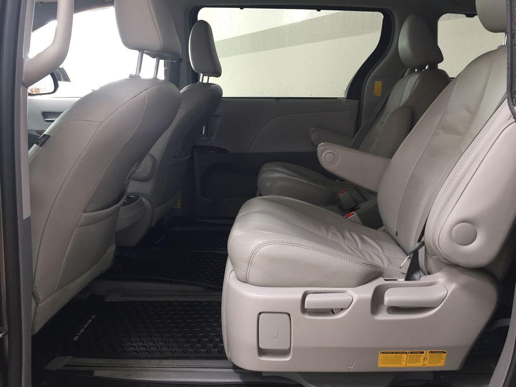 Gray[Pre-Dawn Grey Mica] 2014 Toyota Sienna XLE AWD Left Side Rear Seat  Photo in Sherwood Park AB