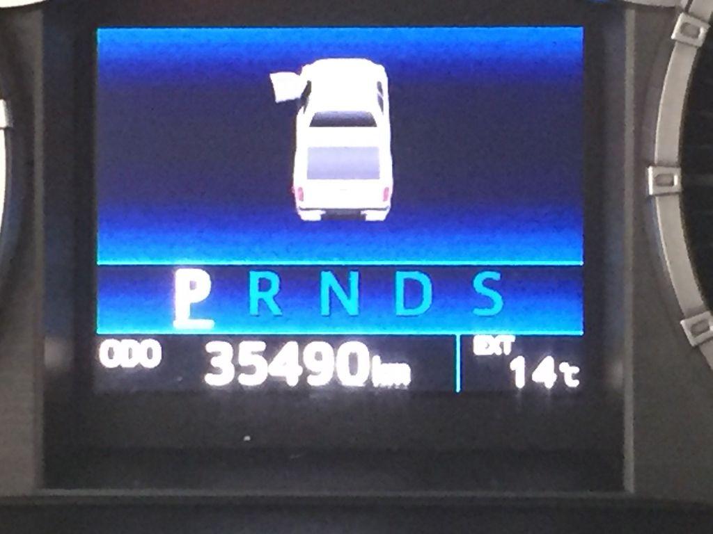 Silver[Silver Sky Metallic] 2017 Toyota Tundra SR5 SUPERCREW Odometer Photo in Sherwood Park AB