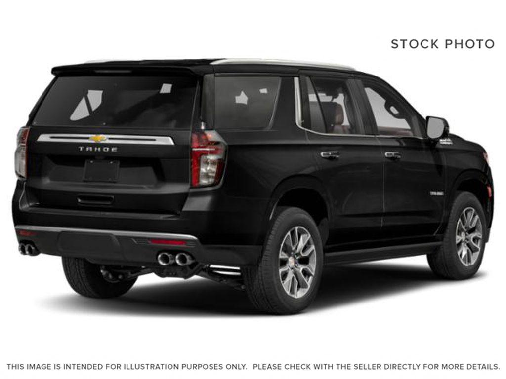 Black[Black] 2021 Chevrolet Tahoe High Country Right Rear Corner Photo in Calgary AB
