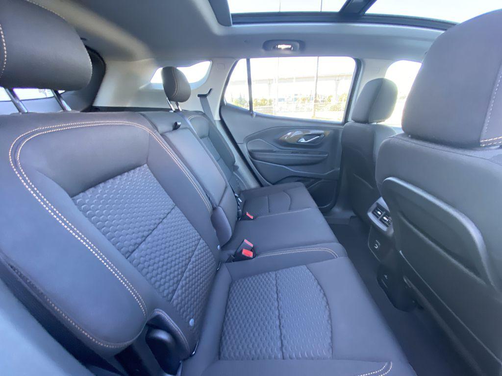 Black[Ebony Twilight Metallic] 2020 GMC Terrain SLE Passenger Rear Door Controls Photo in Calgary AB