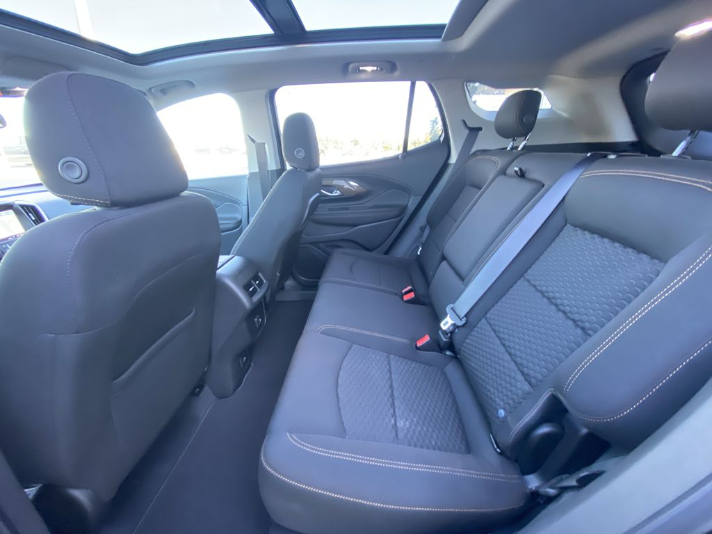 Black[Ebony Twilight Metallic] 2020 GMC Terrain SLE Left Side Rear Seat  Photo in Calgary AB