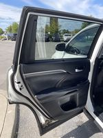 White[Blizzard Pearl] 2018 Toyota Highlander Left Side Rear Seat  Photo in Brampton ON