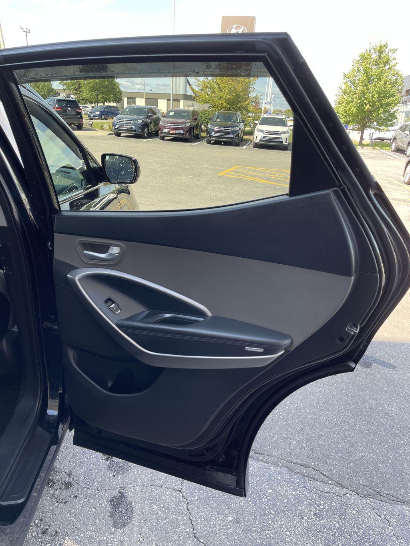 Silver[Moonstone Silver] 2015 Hyundai Santa Fe cleaned Odometer Photo in Brampton ON