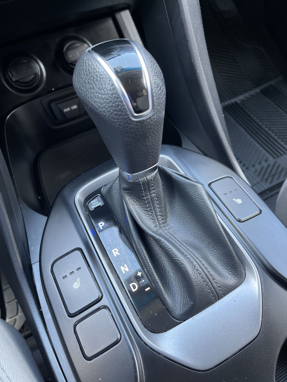 Silver[Moonstone Silver] 2015 Hyundai Santa Fe cleaned Rear of Vehicle Photo in Brampton ON