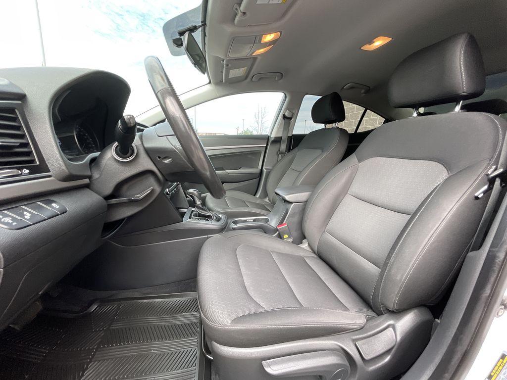 White[Polar White] 2017 Hyundai Elantra clean Central Dash Options Photo in Brampton ON