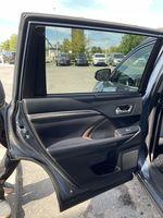 Blue[Shoreline Blue Pearl] 2017 Toyota Highlander clean Left Side Rear Seat  Photo in Brampton ON