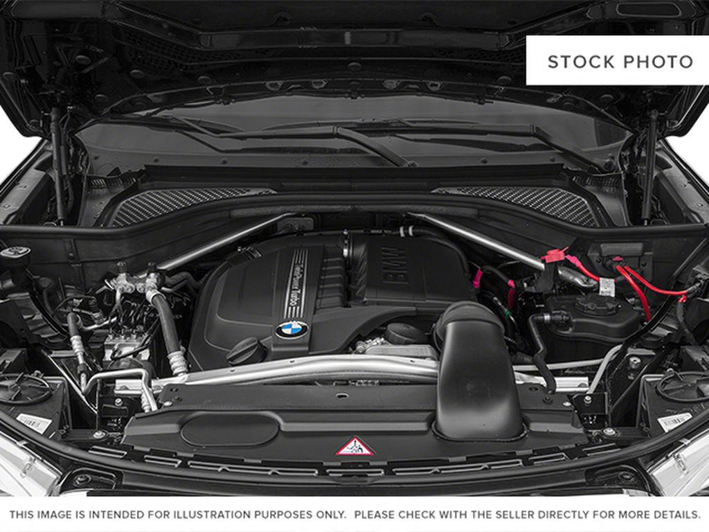 Black[Black Sapphire Metallic] 2014 BMW X5 Engine Compartment Photo in Dartmouth NS