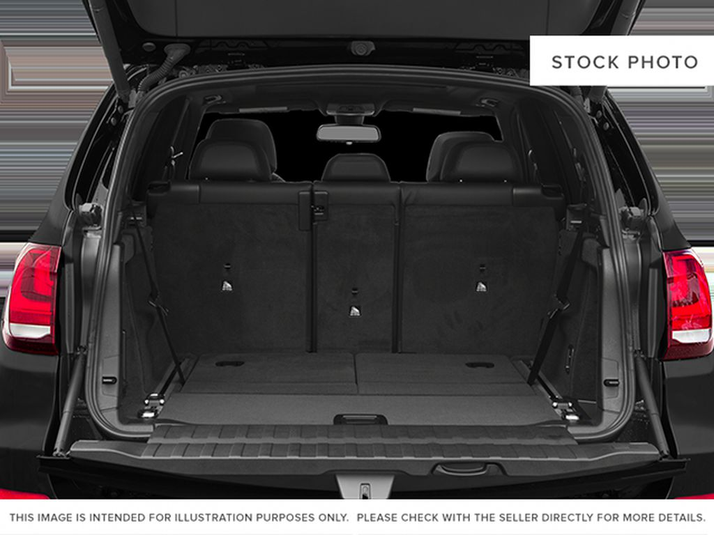 Black[Black Sapphire Metallic] 2014 BMW X5 Trunk / Cargo Area Photo in Dartmouth NS