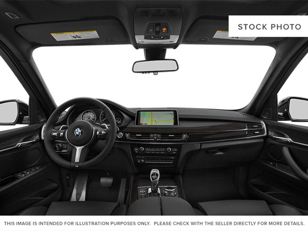 Black[Black Sapphire Metallic] 2014 BMW X5 Central Dash Options Photo in Dartmouth NS