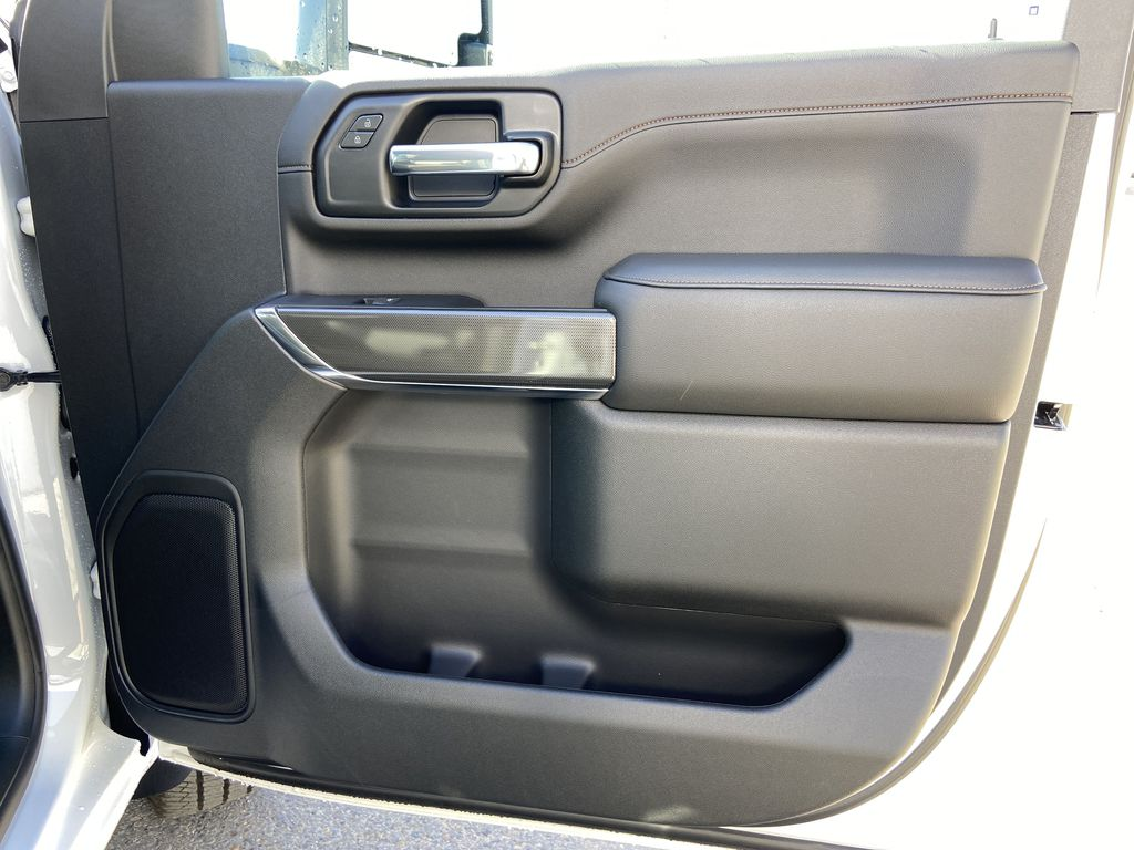 White[Summit White] 2022 GMC Sierra 2500HD AT4 Right Front Interior Door Panel Photo in Calgary AB
