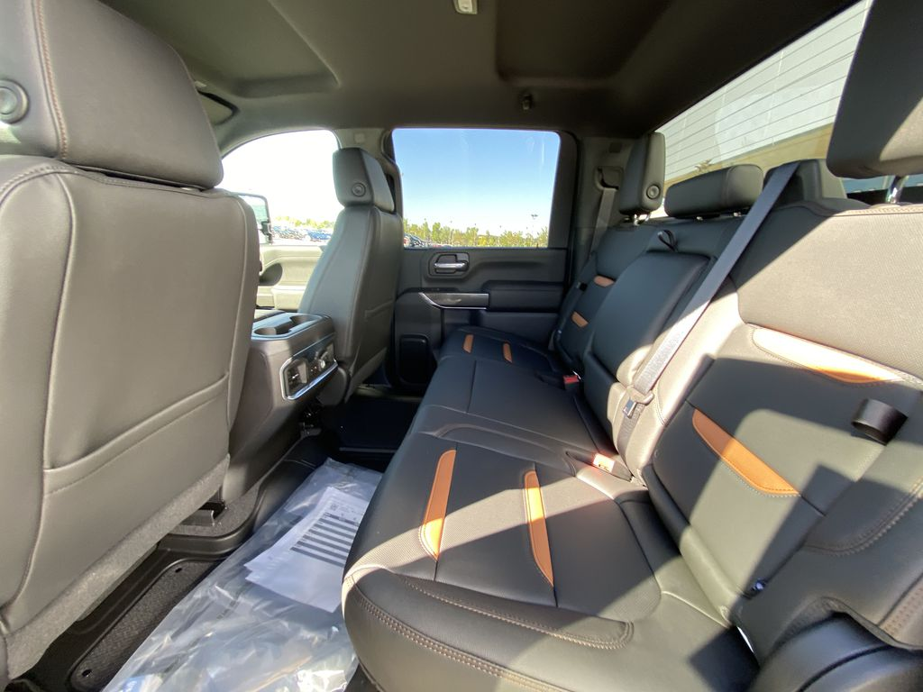 White[Summit White] 2022 GMC Sierra 2500HD AT4 Left Side Rear Seat  Photo in Calgary AB