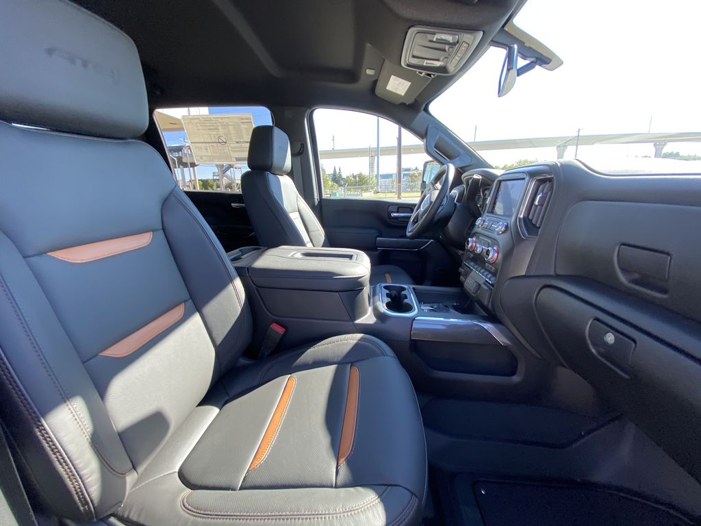 White[Summit White] 2022 GMC Sierra 2500HD AT4 Right Side Front Seat  Photo in Calgary AB