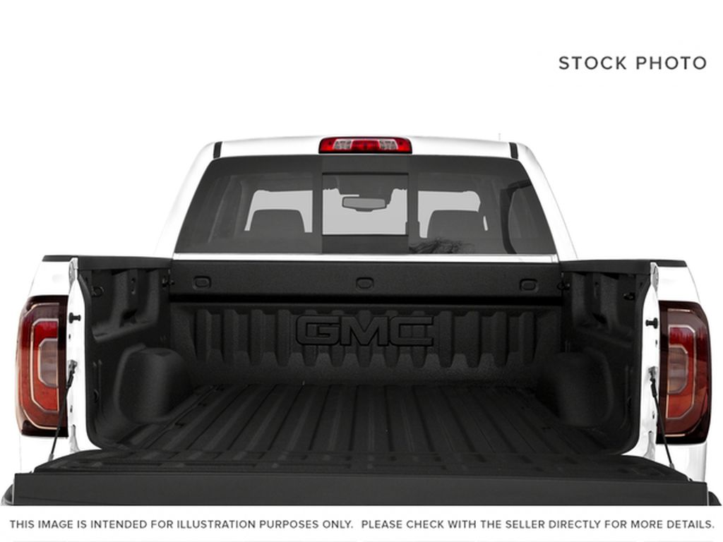 White[White Frost Tricoat] 2018 GMC Sierra 1500 SLT Trunk / Cargo Area Photo in Canmore AB