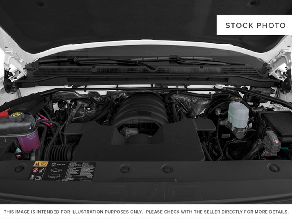 White[White Frost Tricoat] 2018 GMC Sierra 1500 SLT Engine Compartment Photo in Canmore AB