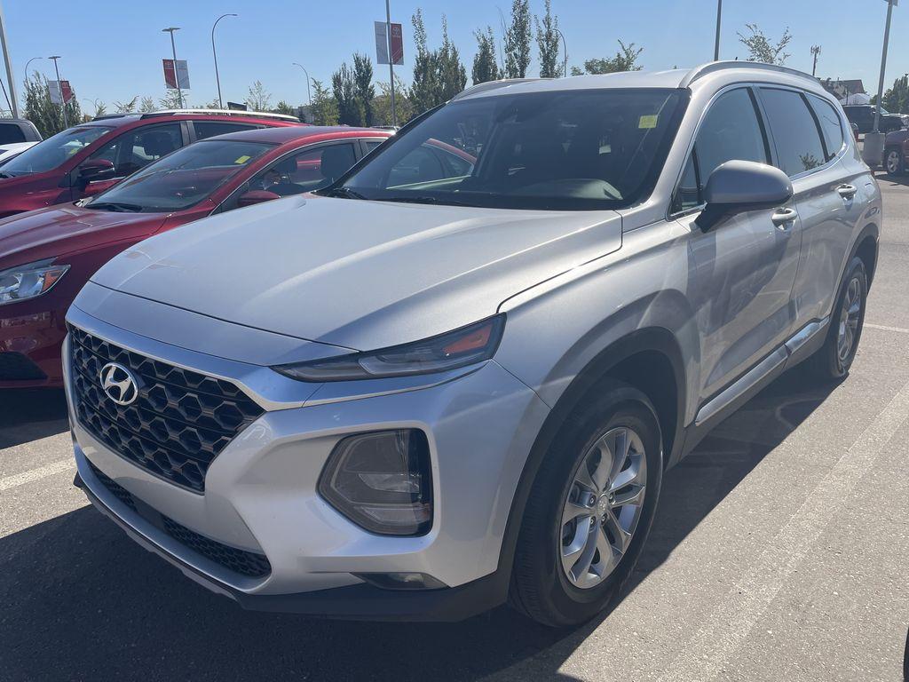 Silver 2019 Hyundai Santa Fe SE Odometer Photo in Edmonton AB