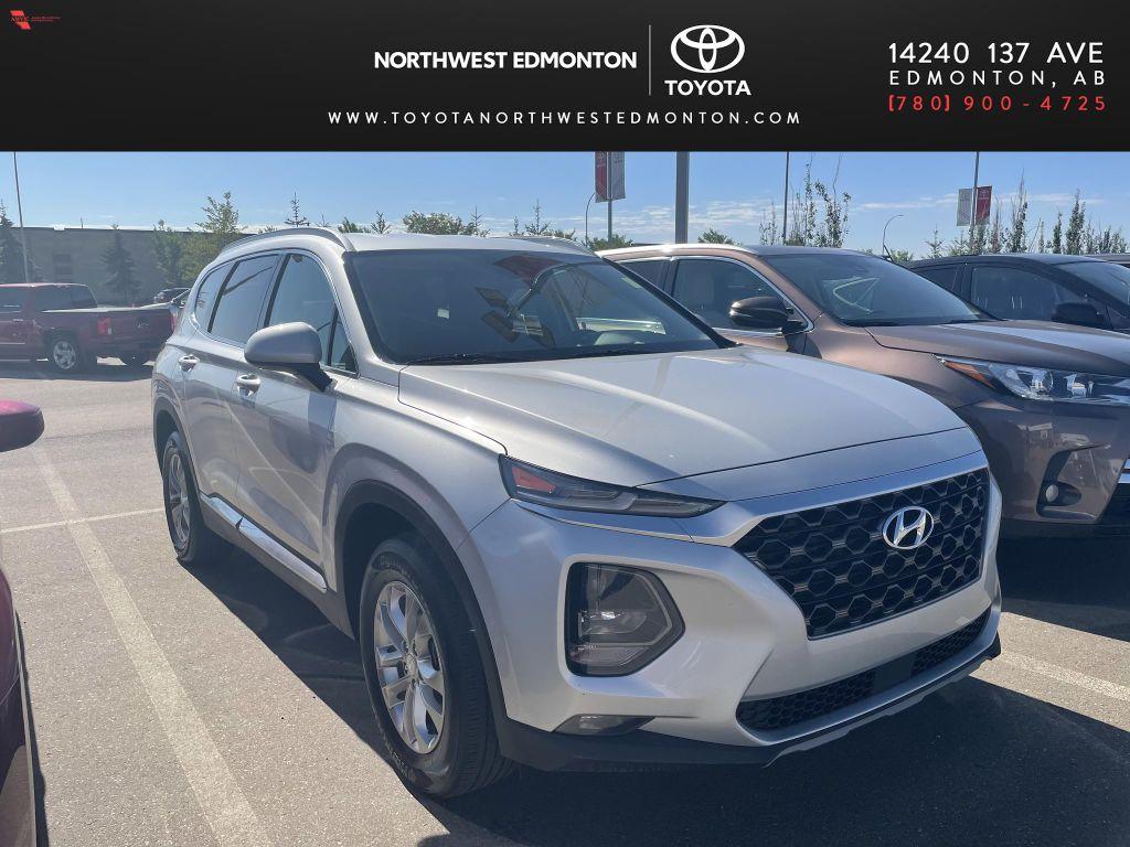 Silver 2019 Hyundai Santa Fe SE