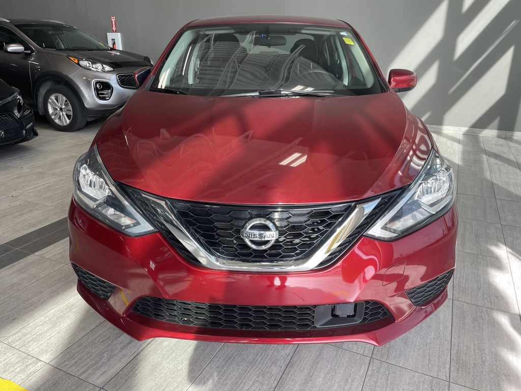 Red 2018 Nissan Sentra SV MIDNIGHT EDITI Odometer Photo in Edmonton AB