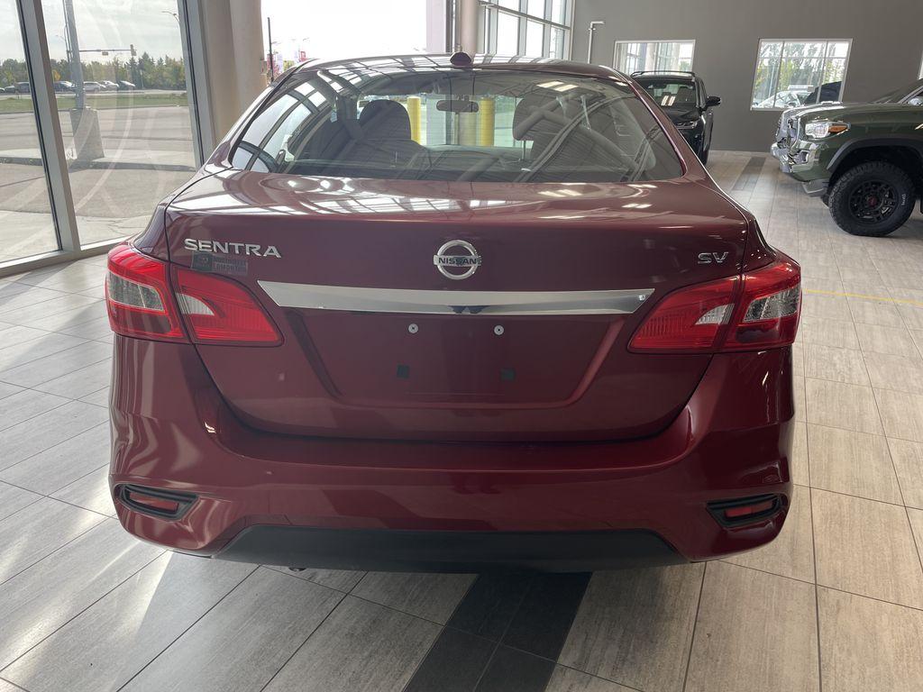 Red 2018 Nissan Sentra SV MIDNIGHT EDITI Trunk / Cargo Area Photo in Edmonton AB
