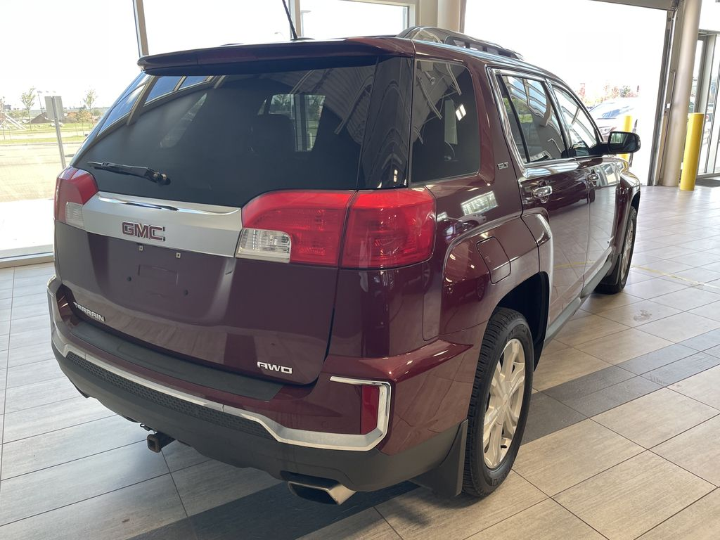 Red 2016 GMC Terrain SLT Rear of Vehicle Photo in Edmonton AB