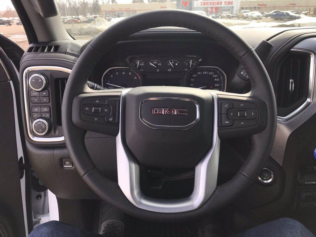 White[Summit White] 2019 GMC Sierra 1500 Left Side Rear Seat  Photo in Brandon MB