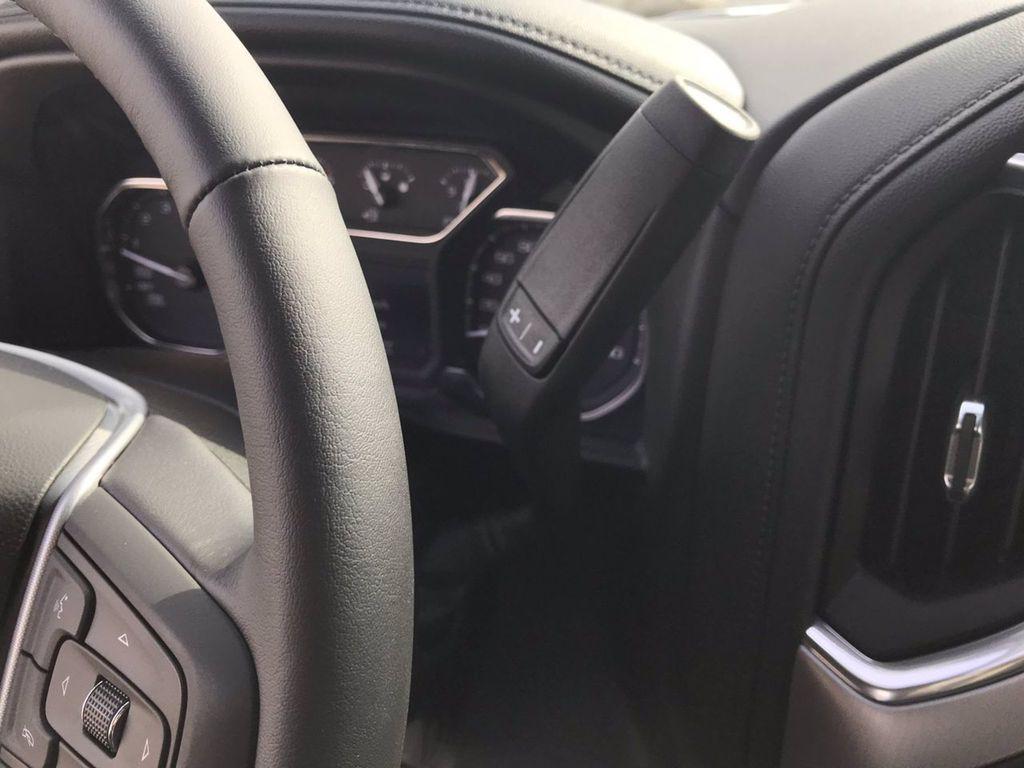 White[Summit White] 2019 GMC Sierra 1500 Steering Wheel and Dash Photo in Brandon MB