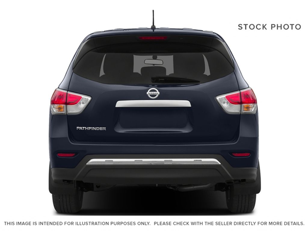 White[Pearl White] 2015 Nissan Pathfinder Rear of Vehicle Photo in Fort Macleod AB