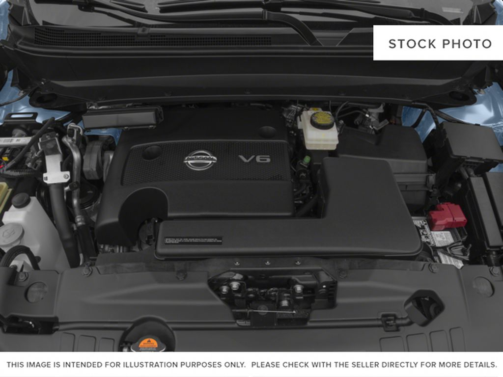 White[Pearl White] 2015 Nissan Pathfinder Engine Compartment Photo in Fort Macleod AB