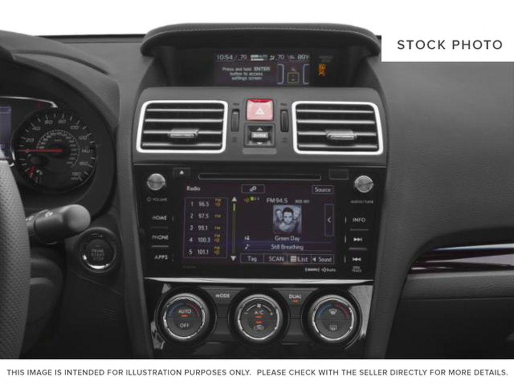 2019 Subaru WRX Radio Controls Closeup Photo in Ottawa ON