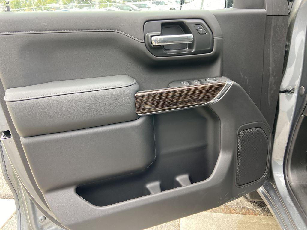 Gray[Satin Steel Metallic] 2021 GMC Sierra 1500 Elevation Left Front Interior Door Panel Photo in Calgary AB