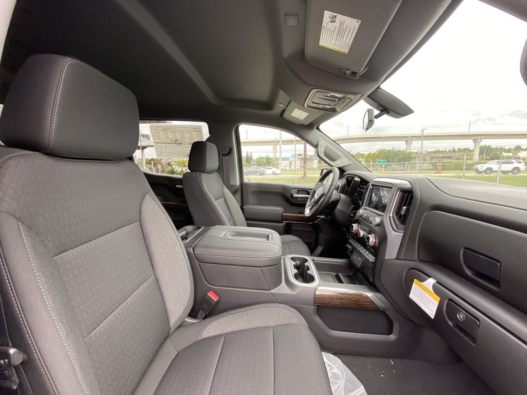 Gray[Satin Steel Metallic] 2021 GMC Sierra 1500 Elevation Right Side Front Seat  Photo in Calgary AB