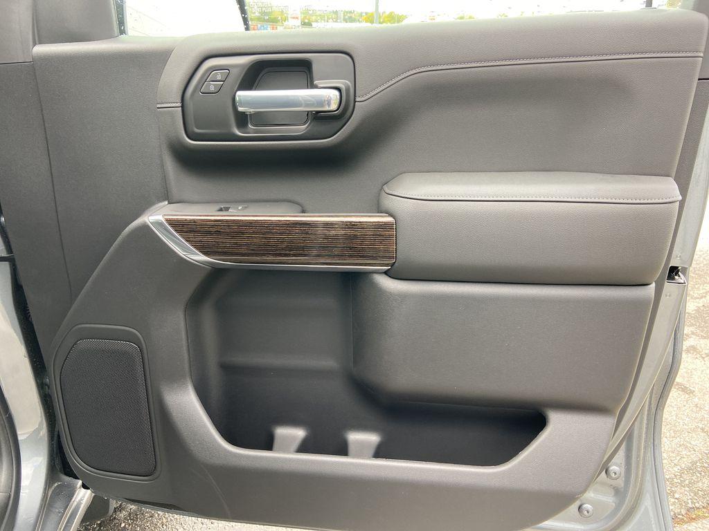 Gray[Satin Steel Metallic] 2021 GMC Sierra 1500 Elevation Right Front Interior Door Panel Photo in Calgary AB