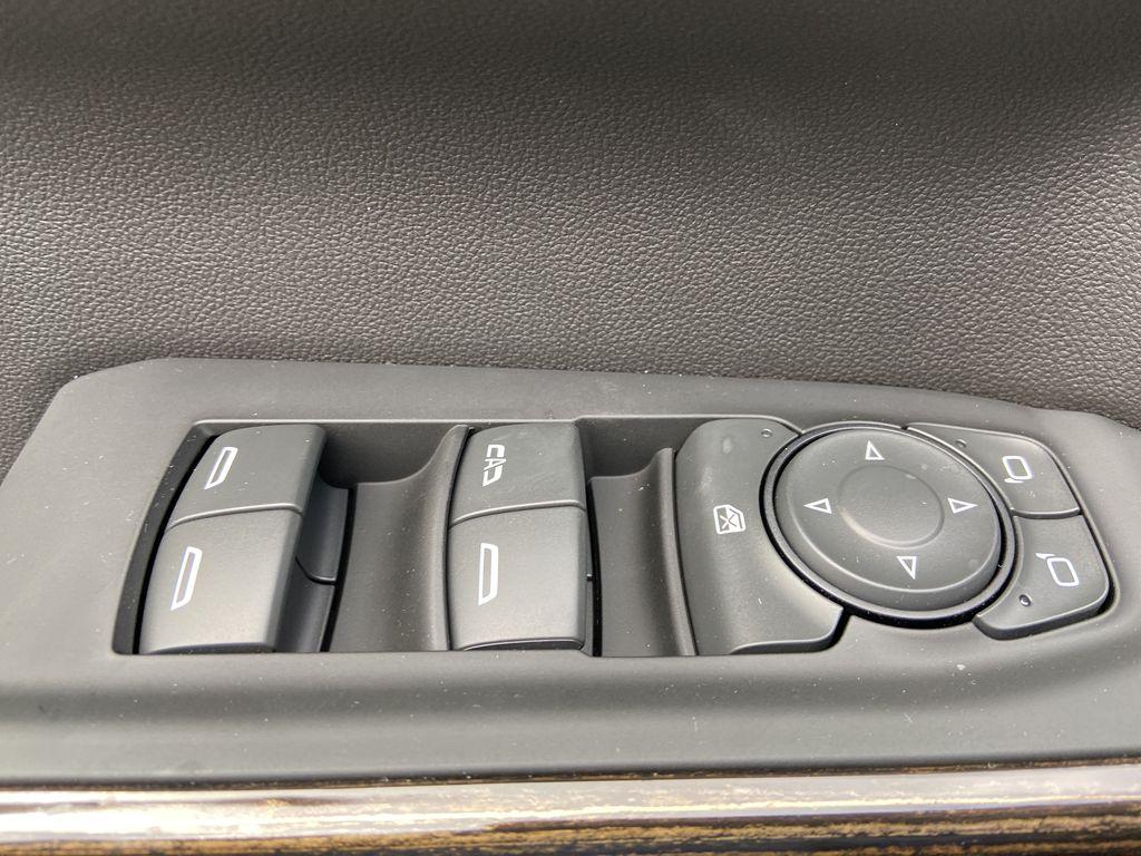 Gray[Satin Steel Metallic] 2021 GMC Sierra 1500 Elevation  Driver's Side Door Controls Photo in Calgary AB