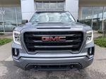 Gray[Satin Steel Metallic] 2021 GMC Sierra 1500 Elevation Front Vehicle Photo in Calgary AB
