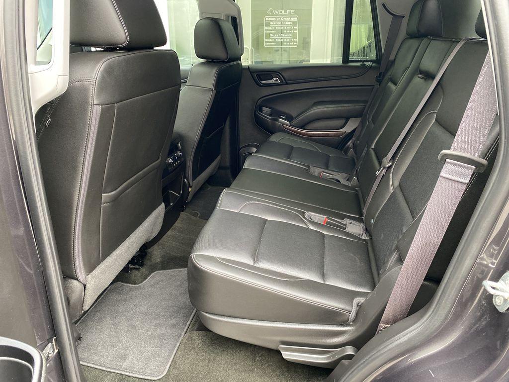 Gray[Iridium Metallic] 2017 GMC Yukon SLT Left Side Rear Seat  Photo in Canmore AB