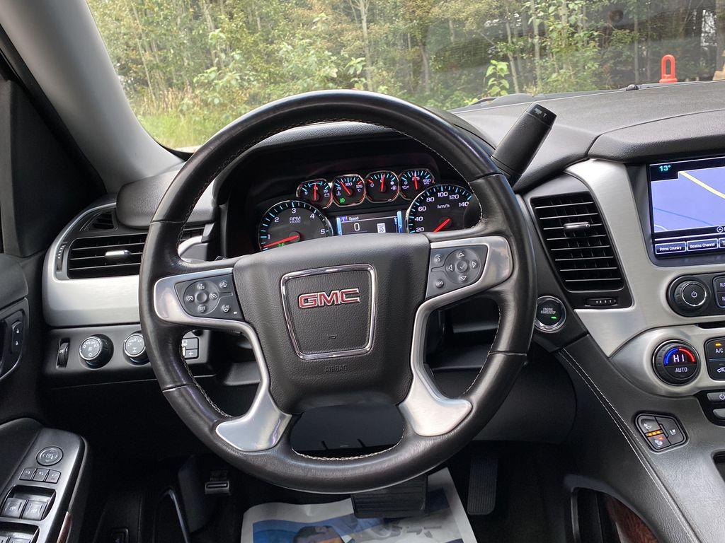 Gray[Iridium Metallic] 2017 GMC Yukon SLT Strng Wheel: Frm Rear in Canmore AB