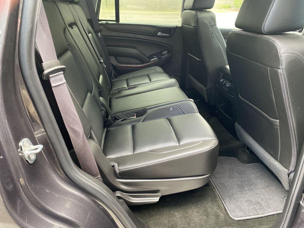 Gray[Iridium Metallic] 2017 GMC Yukon SLT Right Side Rear Seat  Photo in Canmore AB