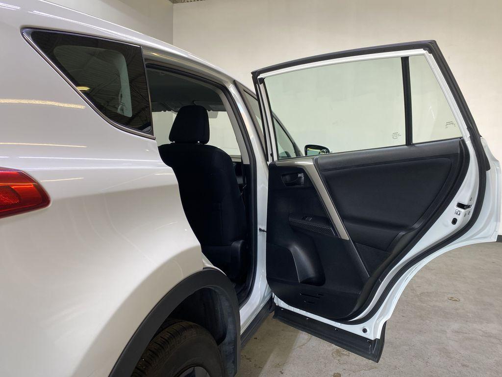 WHITE 2015 Toyota RAV4 LE AWD - Bluetooth, Cruise Control, Air Conditioning Right Rear Interior Door Panel Photo in Edmonton AB
