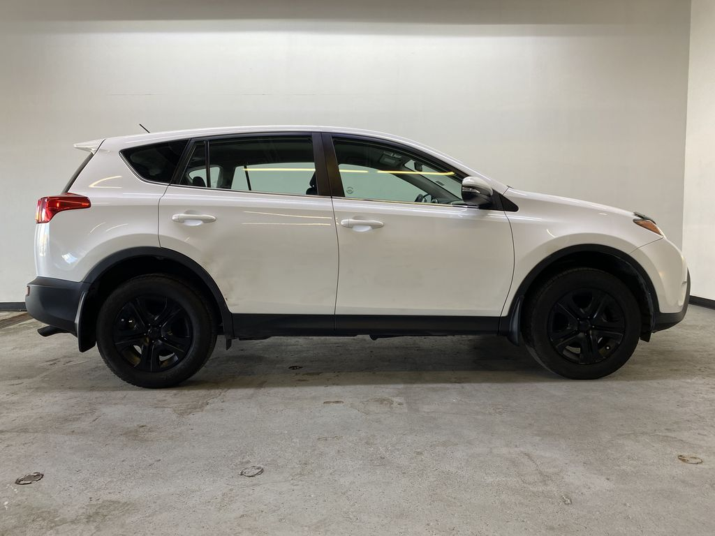 WHITE 2015 Toyota RAV4 LE AWD - Bluetooth, Cruise Control, Air Conditioning Right Side Photo in Edmonton AB