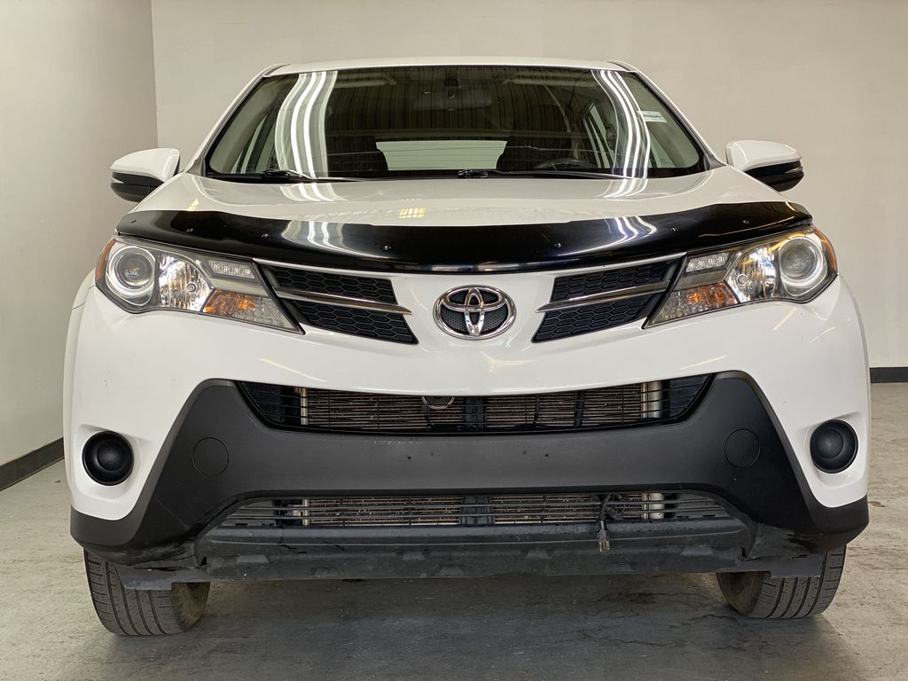 WHITE 2015 Toyota RAV4 LE AWD - Bluetooth, Cruise Control, Air Conditioning Front Vehicle Photo in Edmonton AB