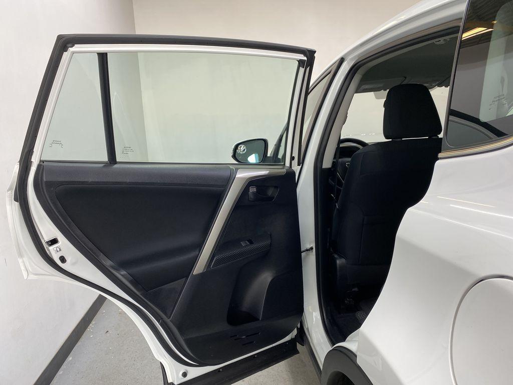 WHITE 2015 Toyota RAV4 LE AWD - Bluetooth, Cruise Control, Air Conditioning Left Rear Interior Door Panel Photo in Edmonton AB