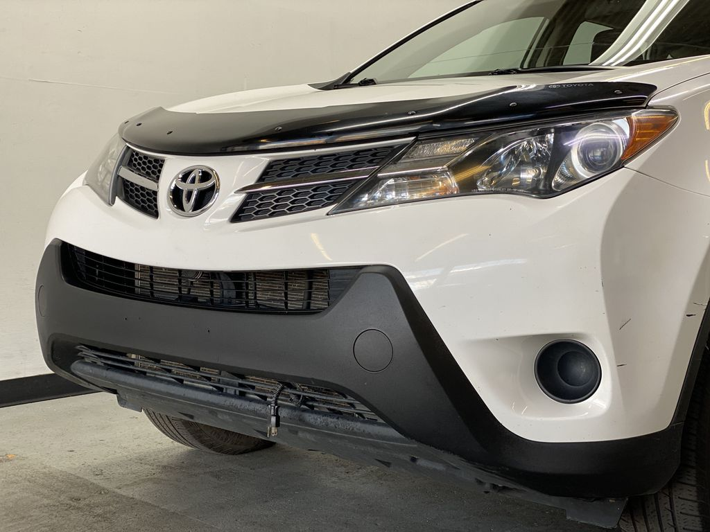 WHITE 2015 Toyota RAV4 LE AWD - Bluetooth, Cruise Control, Air Conditioning Left Front Head Light / Bumper and Grill in Edmonton AB