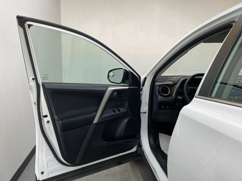 WHITE 2015 Toyota RAV4 LE AWD - Bluetooth, Cruise Control, Air Conditioning Left Front Interior Door Panel Photo in Edmonton AB