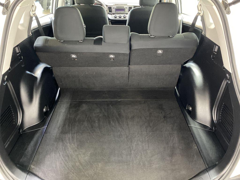 WHITE 2015 Toyota RAV4 LE AWD - Bluetooth, Cruise Control, Air Conditioning Trunk / Cargo Area Photo in Edmonton AB