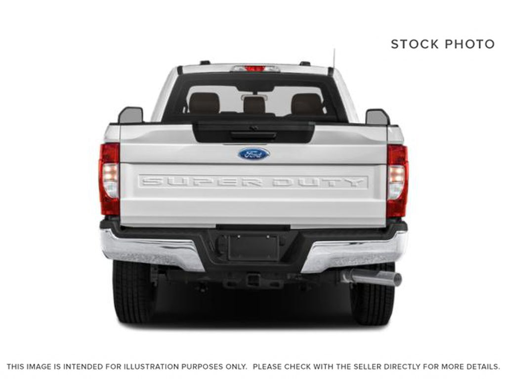 Silver[Iconic Silver Metallic] 2022 Ford Super Duty F-250 SRW Rear of Vehicle Photo in Dartmouth NS
